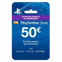 Sony PlayStation Network Card (50 Euro) Videojuegos Tarjeta de regalo