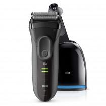 Braun Series 3 3050cc Máquina de afeitar de láminas Recortadora Negro, Gris