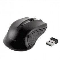 Vivanco 36639 ratón RF inalámbrico Óptico 1000 DPI Ambidextro Negro
