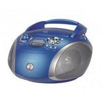 Grundig RCD 1445 USB Azul, Plata