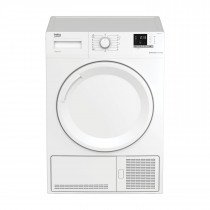 Beko DHS 8412 PA0 secadora Freestanding (placement) Carga frontal Blanco 8 kg A++