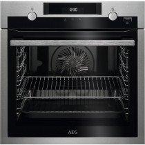 AEG BPE555320M Horno eléctrico 71 L Negro, Acero inoxidable A+