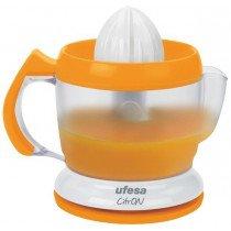 Ufesa EX4939 1L 40W Naranja, Blanco prensa de cítricos eléctricos
