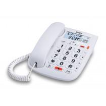 Alcatel TMAX 20 Teléfono DECT/analógico Blanco Identificador de llamadas