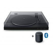 Sony PS-LX310BT Tocadiscos de tracción directa Negro