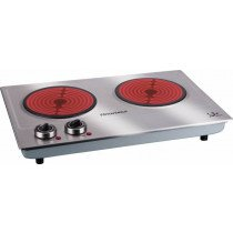 JATA V532 hobs Acero inoxidable Countertop (placement) Cerámico 2 zona(s)