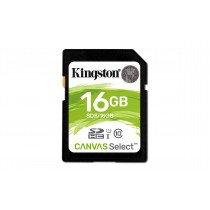 Kingston Technology Canvas Select memoria flash 16 GB SDHC Clase 10 UHS-I
