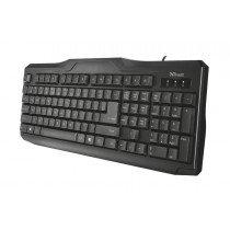 Trust CLASSICLINE KEYBOARD teclado USB Español Negro