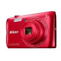 "Nikon COOLPIX A300 Cámara compacta 20,1 MP 1/2.3"" CCD 5152 x 3864 Pixeles Rojo"