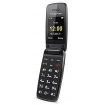 """Doro Primo 401 5,08 cm (2"""") 115 g Negro, Rojo Teléfono básico"""