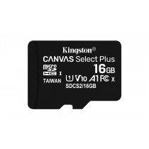 Kingston Technology Canvas Select Plus memoria flash 16 GB MicroSDHC Clase 10 UHS-I