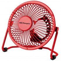 Orbegozo PW 1021 Ventilador con aspas para el hogar Rojo ventilador