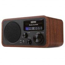Daewoo DRP-134 radio Personal Analógica Negro, Madera