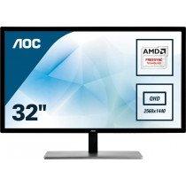 "AOC Value-line Q3279VWF pantalla para PC 80 cm (31.5"") Quad HD LED Plana Negro"