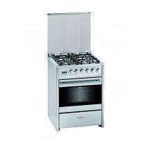 Meireles G 610 Cocina independiente Acero inoxidable Encimera de gas A