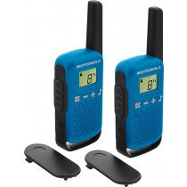 Motorola TALKABOUT T42 two-way radios 16 canales Negro, Azul