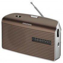 Grundig Music 60 radio Personal Analógica Marrón, Plata