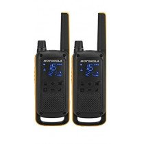 Motorola Talkabout T82 Extreme Twin Pack two-way radios 16 canales Negro, Naranja