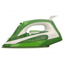 Solac PV2107 Plancha vapor-seco Suela de acero inoxidable Verde, Blanco 2400 W