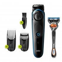 Braun 81705178 depiladora para la barba Negro, Azul