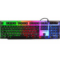 The G-Lab Keyz Neon teclado USB QWERTY Español Negro