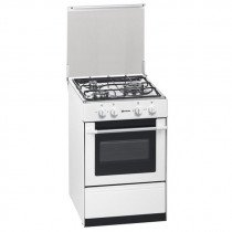 Meireles G 1530 DV W NAT Cocina independiente Blanco Encimera de gas