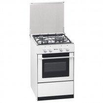 Meireles G 1530 DV W NAT Cocina independiente Blanco Encimera de gas