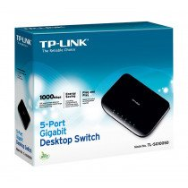 TP-LINK TL-SG1005D switch No administrado Gigabit Ethernet (10/100/1000) Negro