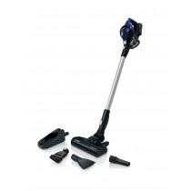 Bosch Serie 6 BBS611MAT aspiradora de pie y escoba eléctrica Sin bolsa 0,3 L Azul