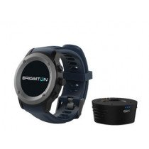 "Brigmton BWATCH-100GPS reloj inteligente IPS 3,3 cm (1.3"") Negro, Gris GPS (satélite)"