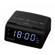 Sunstech FRD35U Reloj Digital Negro radio