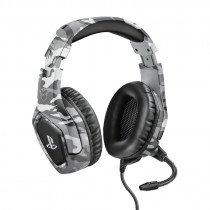 Trust GXT 488 Forze PS4 Auriculares Diadema Negro, Gris