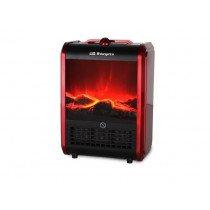 Orbegozo CM 9015 Calentador de cuarzo Rojo 1500 W
