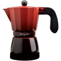 Oroley Ecofund Moka pot Negro, Rojo