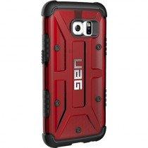 Urban Armor Gear GLXN7-L-MG funda para teléfono móvil Carcasa rígida Negro, Rojo