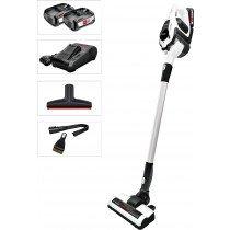 Bosch Serie 8 BBS1224 aspiradora de pie y escoba eléctrica Bolsa para el polvo Cromo, Blanco 0,4 L
