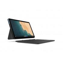 "Lenovo IdeaPad Duet Chromebook 25,6 cm (10.1"") Pantalla táctil WUXGA MediaTek 4 GB LPDDR4x-SDRAM 128 GB eMCP Wi-Fi 5 (802.11ac) Chrome OS Azul, Gris"