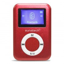 Sunstech DEDALO2BT Reproductor de MP3 Rojo 4 GB