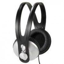 Vivanco 36502 headphones/headset Auriculares Diadema Negro, Plata