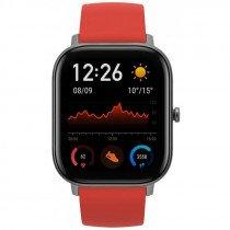 "Amazfit GTS reloj inteligente AMOLED 4,19 cm (1.65"") Rojo GPS (satélite)"
