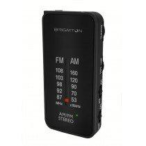 Brigmton BT-224 radio Portátil Analógica Negro