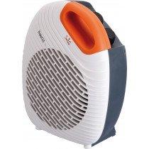 JATA TV64 calefactor eléctrico Calentador de ventilador Gris, Naranja, Blanco 2000 W