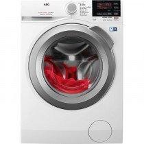 AEG L6FBG844 lavadora Independiente Carga frontal Blanco 8 kg 1400 RPM A+++