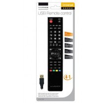 Vivanco 37600 mando a distancia DTC, DTT, DTV, DVD/Blu-ray, DVDR-HDD, DVR, Sistema de cine en casa, PC, SAT, STB, TV, Receptor de televisión, VCR Botones