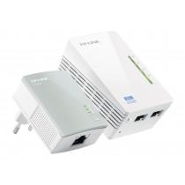 TP-LINK TL-WPA4220 KIT adaptador de red PowerLine 300 Mbit/s Ethernet Wifi Blanco 1 pieza(s)
