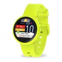 """MyKronoz ZeRound3 Lite reloj inteligente TFT 3,1 cm (1.22"""") Amarillo"""