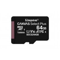 Kingston Technology Canvas Select Plus memoria flash 64 GB MicroSDXC Clase 10 UHS-I