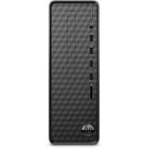 HP Slim Desktop S01-pF1008ns DDR4-SDRAM i3-10100 Mini Tower Intel® Core™ i3 de 10ma Generación 8 GB 512 GB SSD FreeDOS PC Negro
