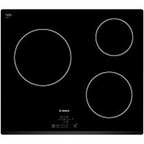 Bosch PKM631B17E hobs Negro Built-in (placement) Cerámico 3 zona(s)