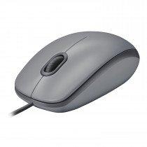 Logitech M110 ratón USB Óptico 1000 DPI Ambidextro